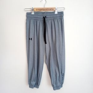 Under Armour Cropped Joggers Grey Size Small